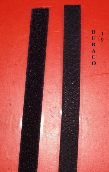 DURACO HOOP & LOOP SELF ADHESIVE STRIP 19mm TAXI METER ALTERNATIVE 1 mts